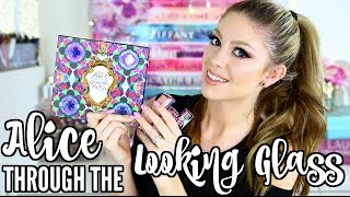 URBAN DECAY ALICE THROUGH THE LOOKING GLASS COLLECTION   REVIEW, SWATCHES & GIVEAWAY