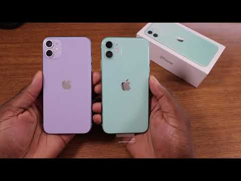 Iphone 11 Green 128gb Unboxing Iphone11 Youtube
