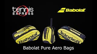 2019 Babolat Pure Aero Backpack and Bags | Tennis Express