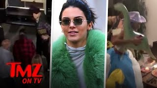 Kendall Jenner Celebrates Her 23rd Bday With Her Ex! | TMZ TV