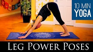 Power Poses for Legs: 10 Minute Yoga Class - Five Parks Yoga