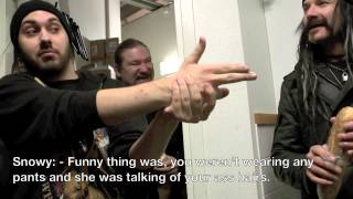 SABATON - Swedish Empire Tour 2012: Part 30 (OFFICIAL BEHIND THE SCENES)