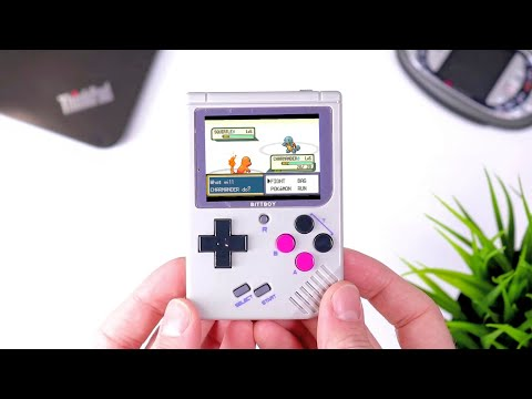 NEW BittBoy Software! - Perfect Retro Handheld?