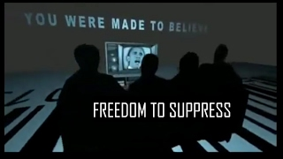 Freedom of The Press or Freedom to Suppress [PART 1]