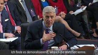 Neil Gorsuch: Supreme-Court-Kandidat distanziert sich von Trump