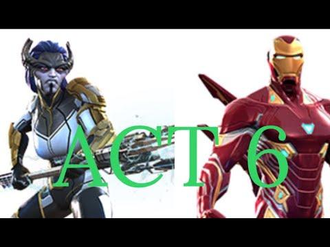 Proxima Midnight Vs Act 6.3.4 Boss Iron Man (IMIW)
