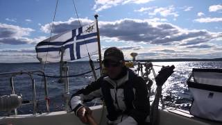 HR 29 sailing in the High Coast of Sweden