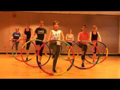 Hula Hoop Fitness Equipment and Exercises
