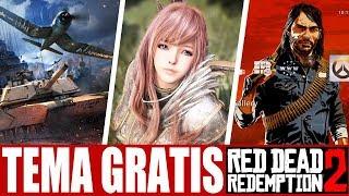 TEMA GRÁTIS RED DEAD 2 PS4!!! Open Beta BLACK DESERT XONE E MAIS JOGOS GRÁTIS!!!