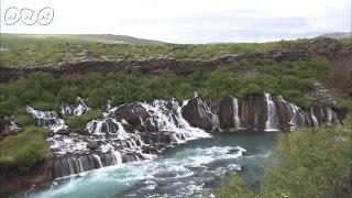 大氷河に閉じ込められた火山がつくった、極北の巨大滝!~アイスランド『グレートネイチャー』