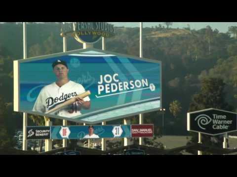 Los Angeles Dodgers starting lineups at Dodger Stadium 6/3/16