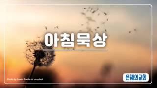 [191116 아침묵상] 골 3:15 은혜의교회 (강북…