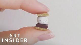 Artist Makes Cute Mini Figures