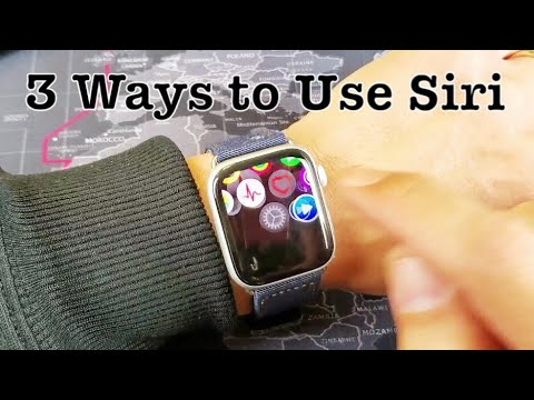 ALL Apple Watches: How To Enable & 3 Ways To Use Siri (Hey Siri)