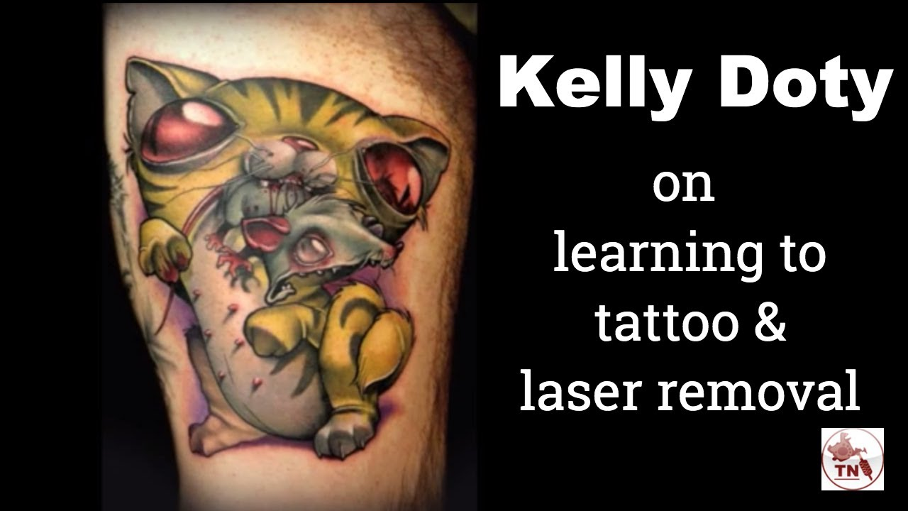 Kelly Doty Tattoo Artist - How she learned to tattoo, and the laser ...
