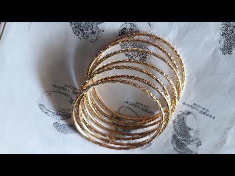 Hand crafted 18k gold bracelet