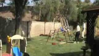 How To Build A Swing Set In 3 Minutes