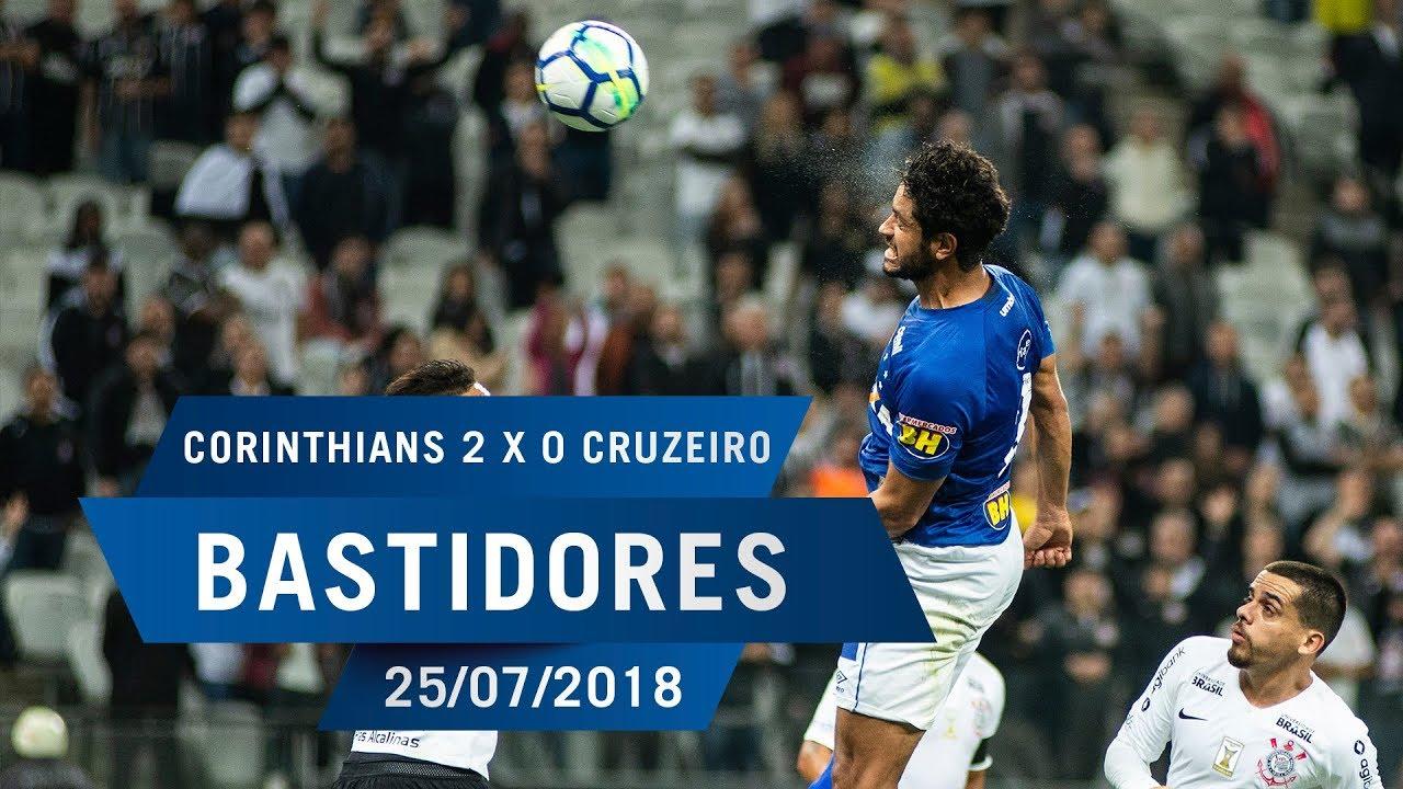 809fa10158 25 07 2018 - Bastidores - Corinthians 2 x 0 Cruzeiro - YouTube
