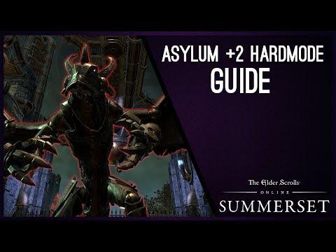 Asylum Sanctorium Hardmode +2 Guide - Elder Scrolls Online