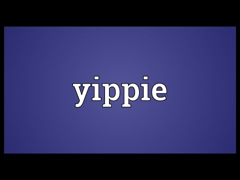 Yippie Meaning