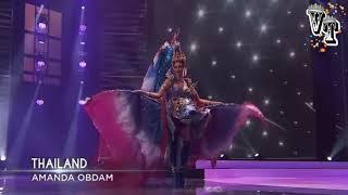 MISS UNIVERSE THAILAND AMANDA OBDAM NATIONAL COSTUME