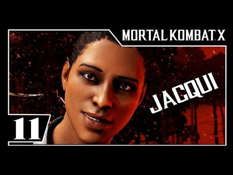 MORTAL KOMBAT X - Modo História Parte #11 - JACQUI BRIGGS  - Dublado [1080p 60fps]