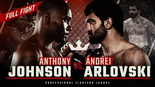 #WSOF2: Anthony Johnson vs. Andrei Arlovski Full Fight