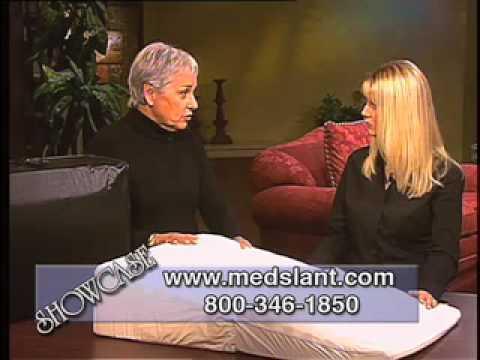 Acid Reflux Pillow by Medslant Helps Solve Acid Reflux & GERD