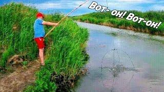 Рыбалка на паук! Отличный улов!Рыбалка на карася! Рыбалка 2020!