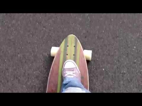 Skating again / Carver / Globe / Longboard