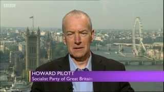 Howard Pilott on BBC Daily Politics