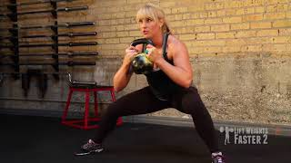 Exercise Demo: Kettlebell Cossack Squat
