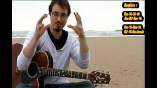 Mon amant de St Jean - (Cours de guitare)
