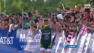 Alistair Brownlee Helps His Brother Over The Finish Line!!! - Your Never Alone