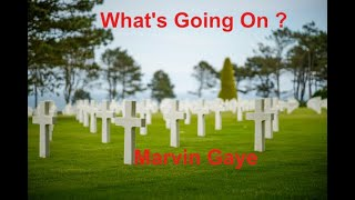 What's Going On -  Marvin Gaye - with lyrics