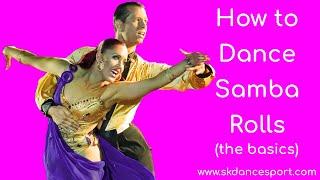 Samba Rolls - The Basics Of Dancing Samba Rolls (in 2019)