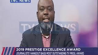 Gambar cover Journalists'Hangout wins Most Outstanding TV Programme Award