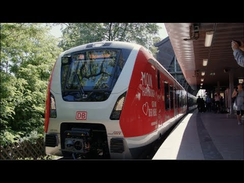 Hamburg's new S-Bahn train, the BR490, enters service testing