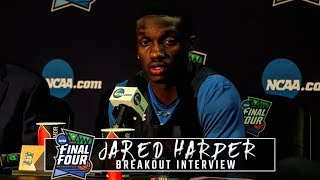 Jared Harper discusses feeling under the weather in Final Four breakout interview