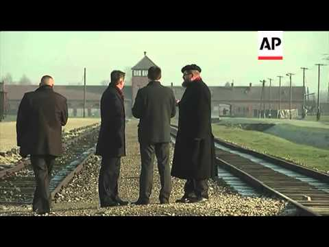 UK PM moved by visit to Auschwitz concentration camp