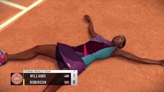 "Tennis World Tour Career: #1-  Venus Williams hits the ground - Road to ""Legend"" (January)"