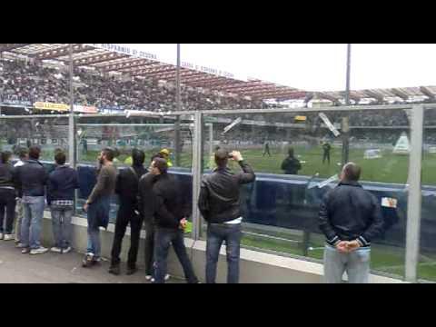 Curva Nord Cesena Inter 30 4 11 Youtube