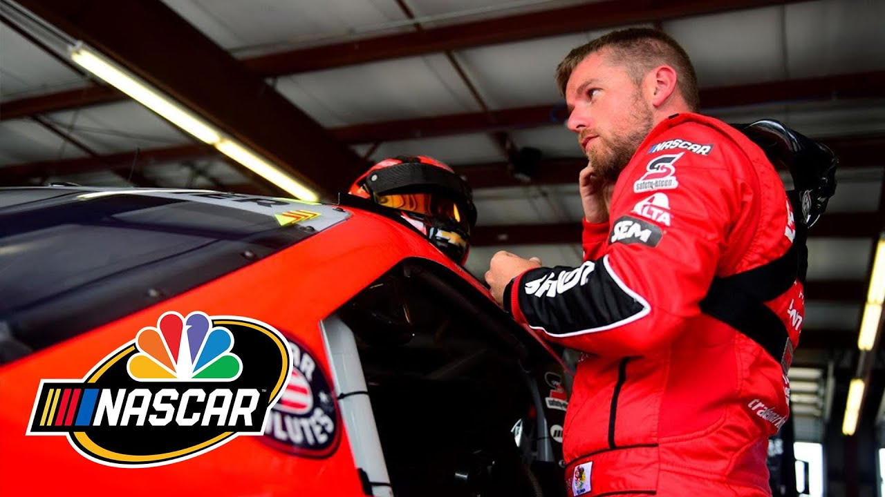 Justin Allgaier keeping his chin up at home track of Chicagoland |  Motorsports on NBC