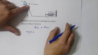 İŞ GÜÇ ENERJİ 2  ( Soru çözümleri )  ERDAL HOCA