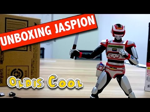 Unboxing Jaspion Action Figure