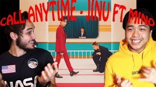 Gambar cover CALL ANYTIME  - JINU FT MINO REACTION!!!