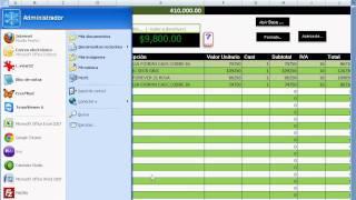 un sistema de ventas creado en excel muy simple pero muy poderoso control ventas