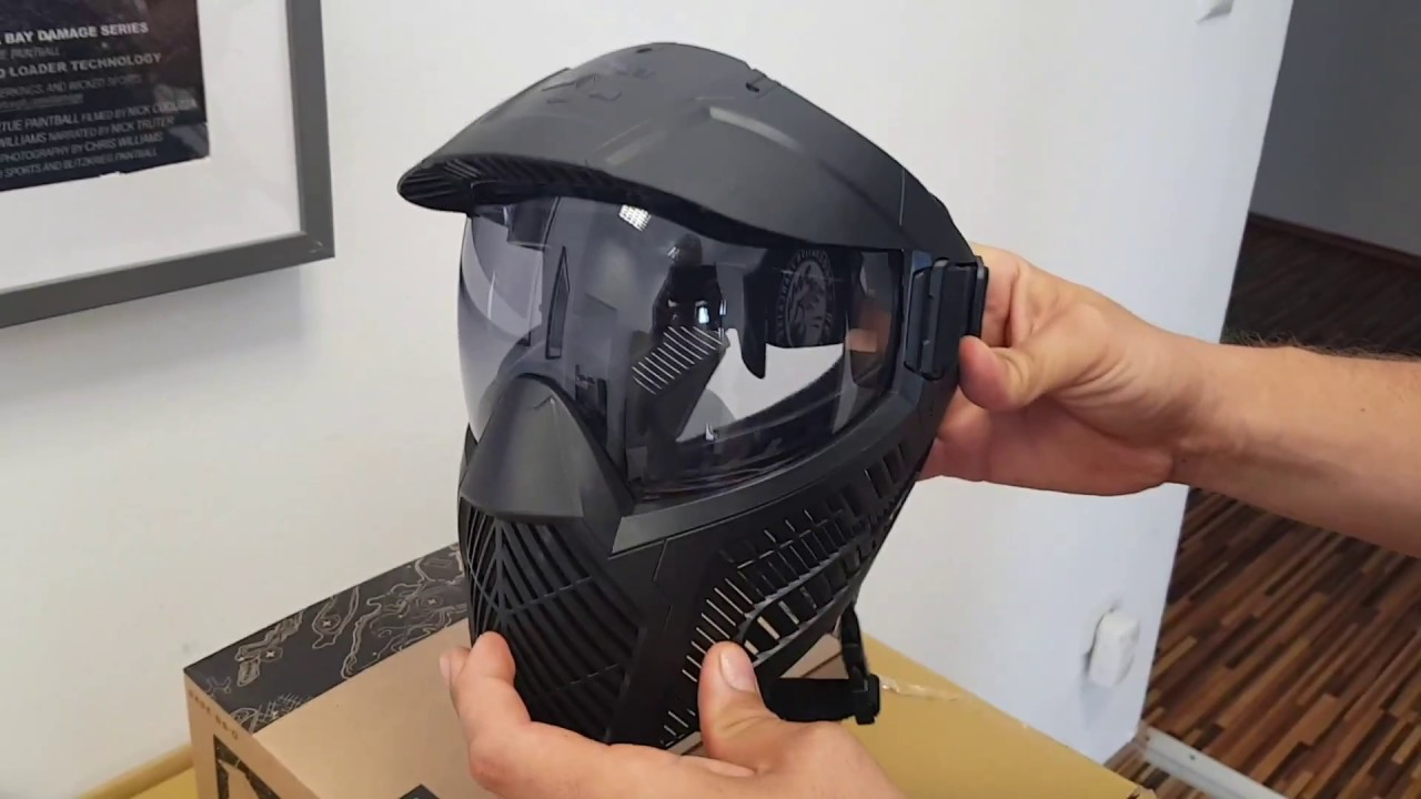 Base Paintball and Airsoft Goggle System