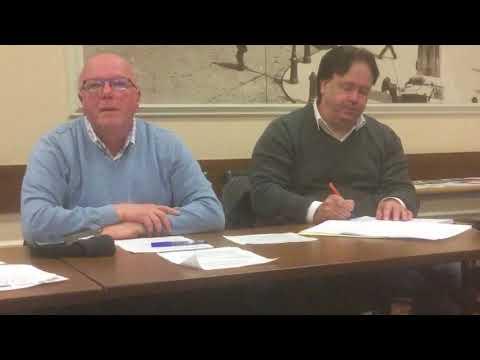 David Room speaking at Birmingham Trades Council December Delegates meeting