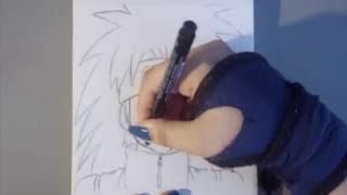 Choji Akimichi sketching+inking